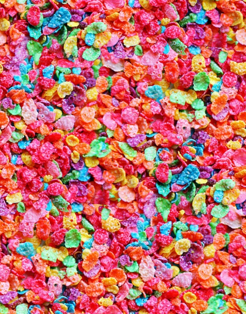 Colorful cereal by nehrdie redbubble colorful cereal voltagebd Gallery