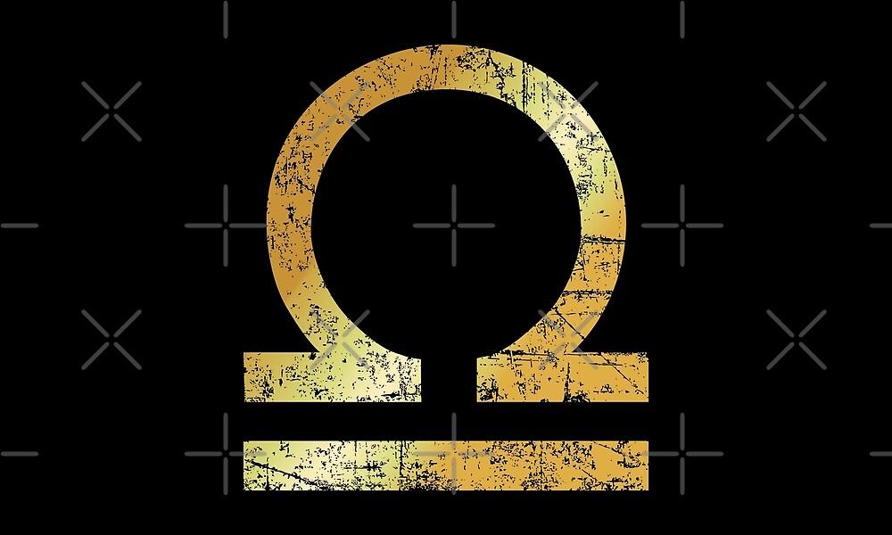 Zodiac Sign Libra – Sternzeichen Waage by theshirtshops