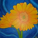 Yellow Geberas by sweetscent62