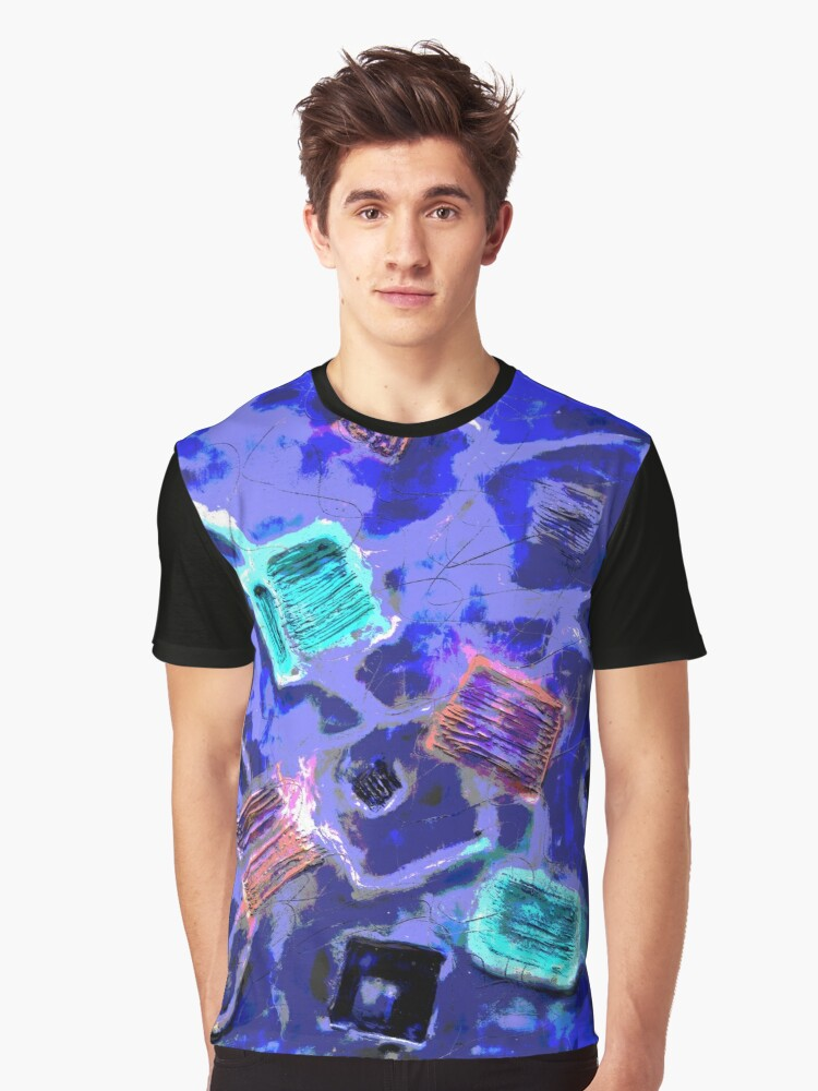 Abstract Pattern 03 Graphic T-Shirt Front