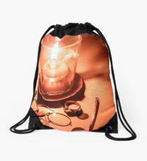 Oil lamp Drawstring Bag