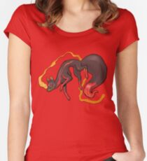 Kitsune Women's Fitted Scoop T-Shirt