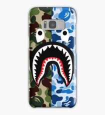 A Bathing Ape Blue Shark Samsung Galaxy Case/Skin