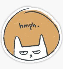 Grumpy Kitty Sticker