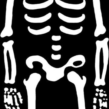 Dabbing Skeleton by haricha774