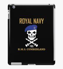 HMS Cumberland - Royal Navy iPad Case/Skin