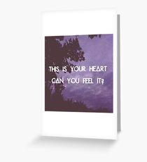 Laura Palmer - Bastille Greeting Card