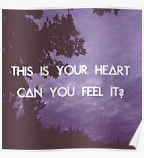 Laura Palmer - Bastille Poster