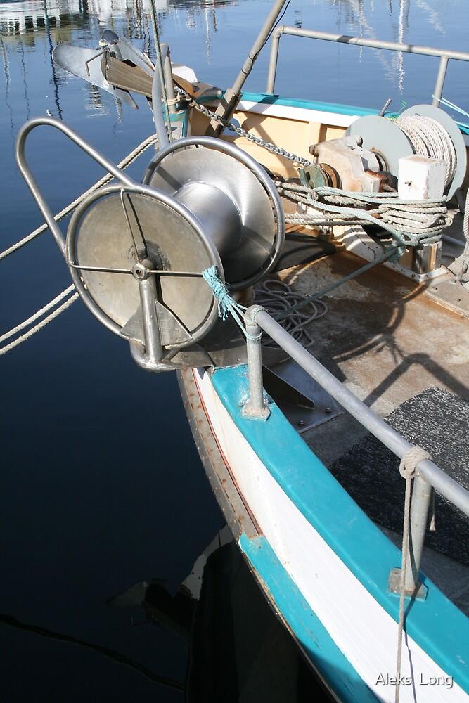 A Fishermans Boat by Aleks  Long