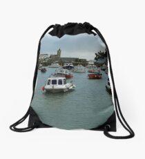 PORTHLEVEN HARBOUR  Drawstring Bag