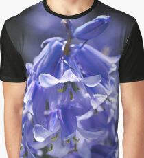 Beautiful Blue of Bluebells Graphic T-Shirt