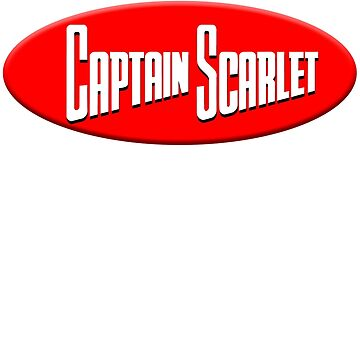 Captain Scarlet T Shirt by TV-Eye-On-Me