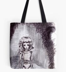 """Empty inside"" Tote Bag"