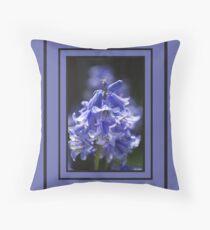 Beautiful Blue of Bluebells Floor Pillow