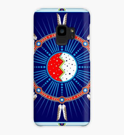 Crazy Horse Dreaming Case/Skin for Samsung Galaxy