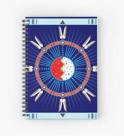 Crazy Horse Dreaming Spiral Notebook