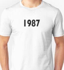 1987 Design  T-Shirt