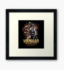 League of Legends VOLIBEAR Framed Print