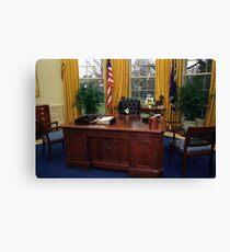 President Mike Pounce Canvas Print