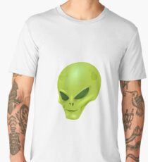 Extraterrestrial Alien Martian from outer space Men's Premium T-Shirt