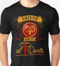 "Ariens do it ""Al Dente"" Unisex T-Shirt"