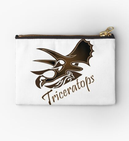 Triceratops Studio Pouch