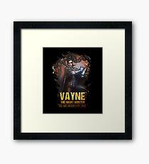 League of Legends VAYNE Framed Print