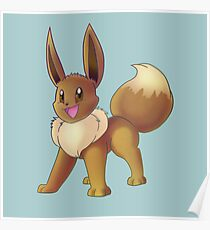 Pokemon Eevee Poster