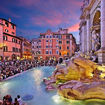 Fontana di Trevi - Rome by Cretense72