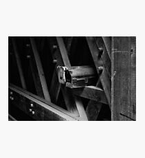 Mailboxes In The Covered Bridge Photographic Print