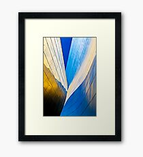 Contours of the Concert Hall Framed Print