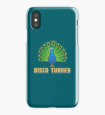 Colorful Party Peacock Disco Turkey Gift iPhone Case/Skin
