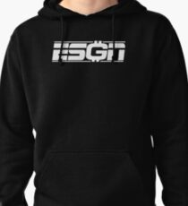 ESGN wht Pullover Hoodie