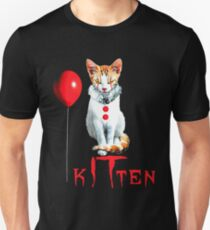Cats Clown Kitten IT Halloween, Cat halloween Balloon T-Shirt