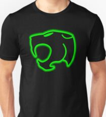 thunder cat neon logo T-Shirt