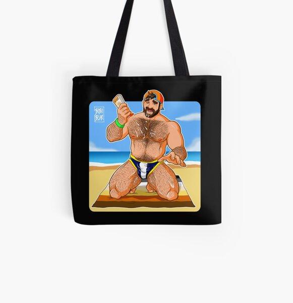 ADAM LIKES SUN LOTION All Over Print Tote Bag
