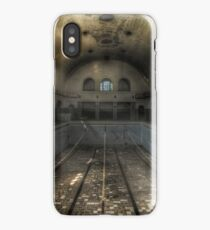 abandoned swimming pool iPhone Case/Skin