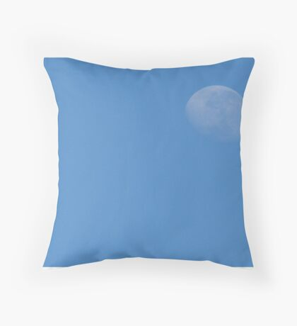 The blue yonder Throw Pillow