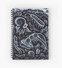 Night Bugs (Mushishi-Inspired) Spiral Notebook