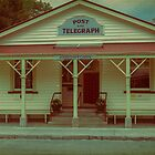 The Old Post Office, Arrowtown, New Zealand by Elaine Teague