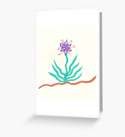 Lonely Plant Greeting Card