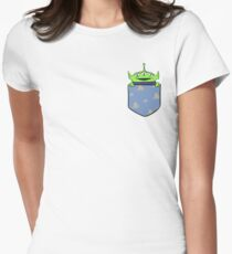 Toy Story Alien Pocket Women's Fitted T-Shirt