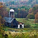 an old country barn by marianne troia