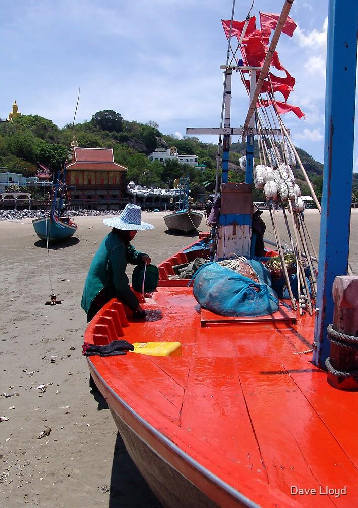 Fisherwoman by Dave Lloyd