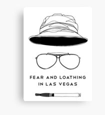 The Hat Of The Fear In Las Vegas Canvas Print