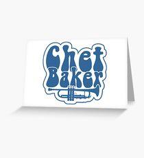 Chet Baker Trumpet Greeting Card