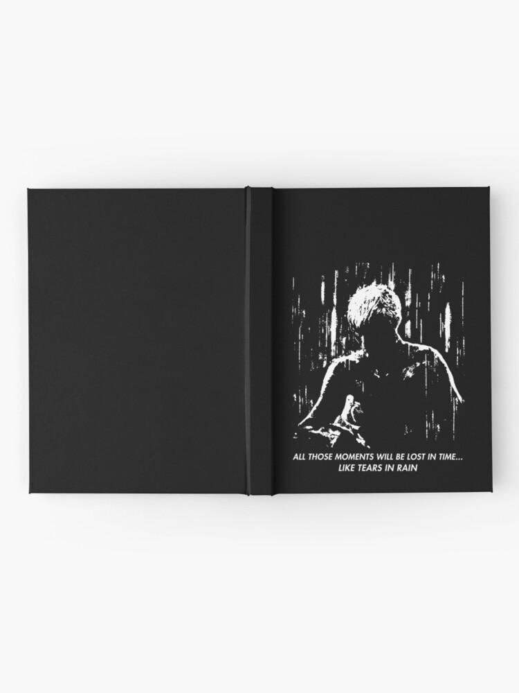 Alternative Ansicht von Blade Runner - wie Tränen im Regen Notizbuch