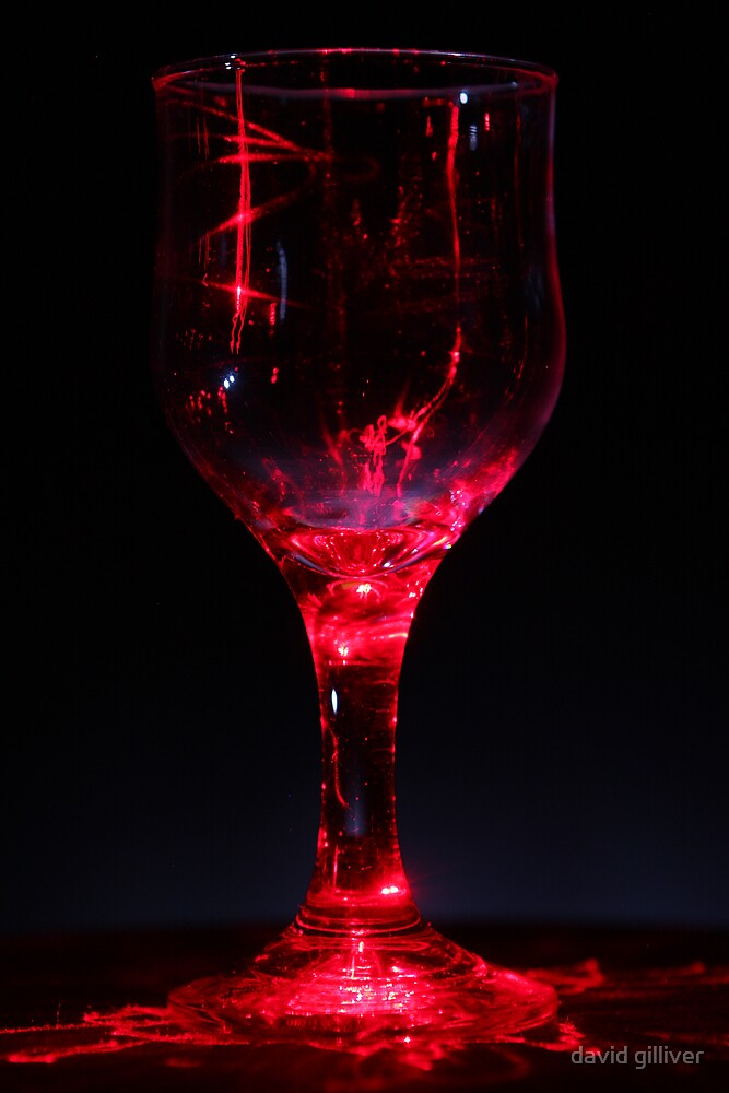 red glass by david gilliver