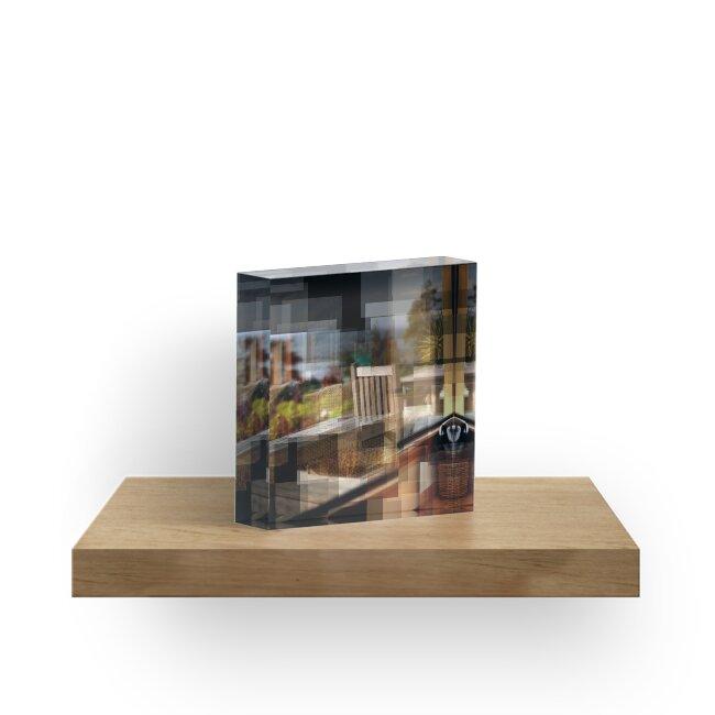 Nelson Window Reflection by Tehau Hintze
