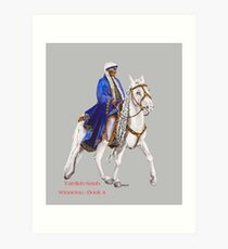 Winnetou-Book 4, Riders by tasmanianartist for Karl May Friends Art Print